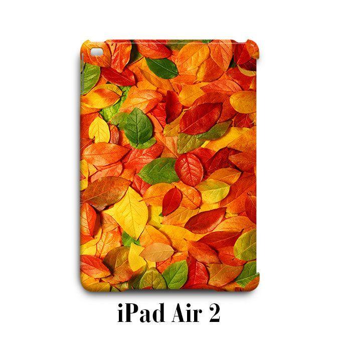 Fall Colour Leaves Autumn iPad Air 2 Case Cover Wrap Around