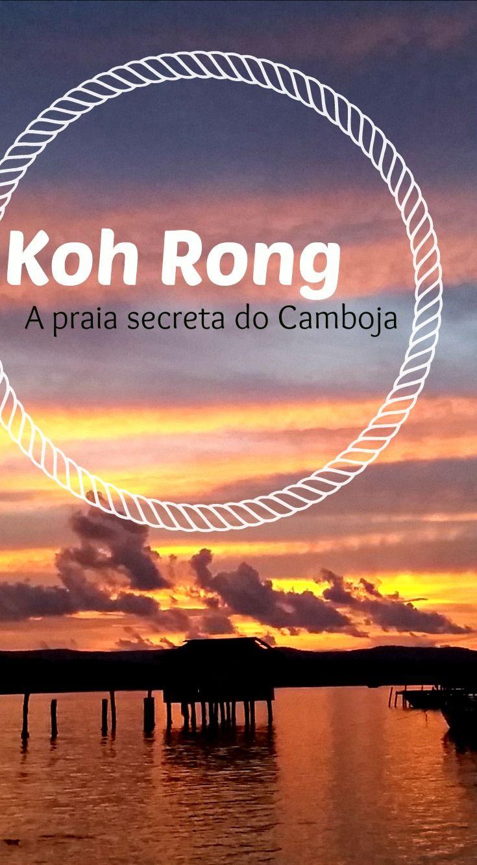 O Camboja guarda um segredinho, uma praia incrível, bem escondidinha na ilha de koh rong, perto de sihanoouksville.  Vem descobrir com a gente