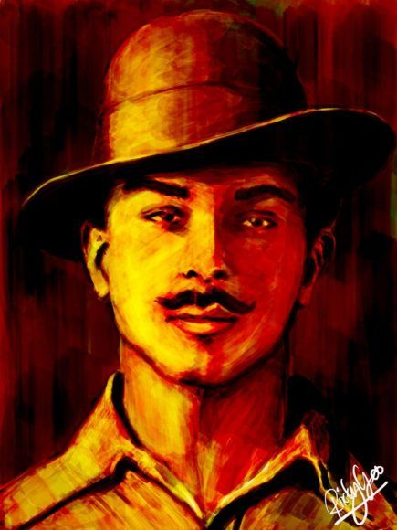 Bhagat Singh HD Wallpapers, Photos, Pics  Images | AllCelebrities