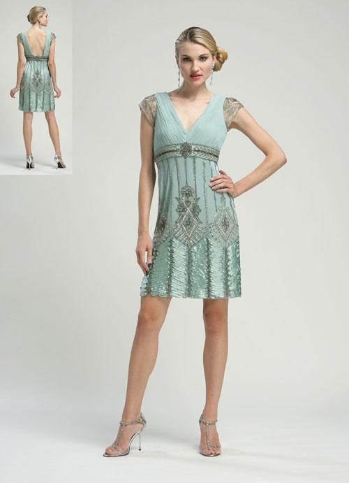 flapper style dress h&m 7th avenue