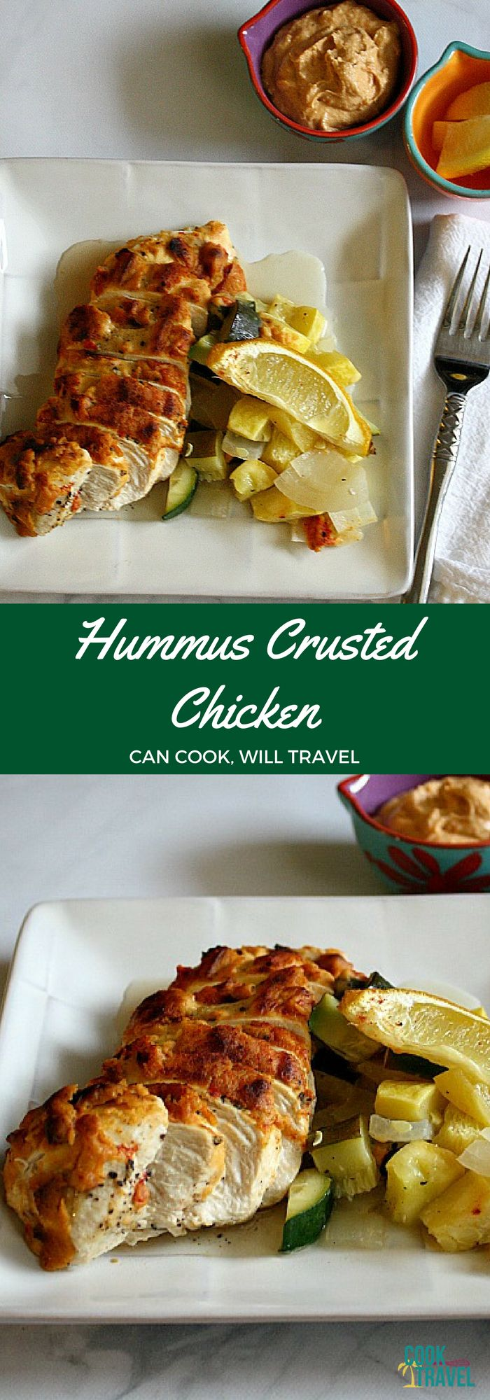 Looking for a healthy, low carb, gluten free and dairy free recipe? Perfect! I was too and this Hummus Crusted Chicken is so delicious!