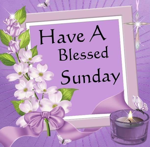Have A Blessed Sunday Animated Sunday Sunday Greeting Sunday