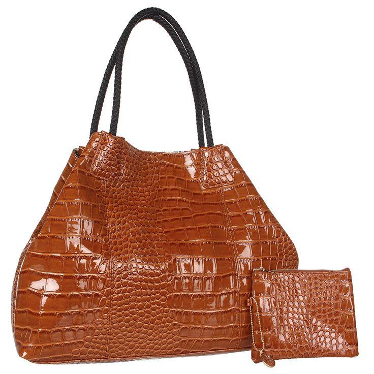 Big Buddha Gisele Tote -Cognac - Fashion