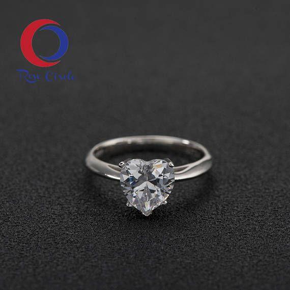 Diamantring herz  Die besten 25+ Ehering china Ideen auf Pinterest | birnenförmige ...