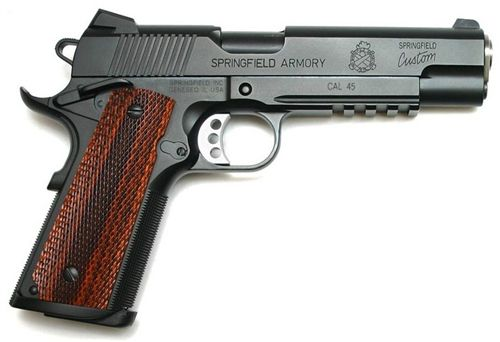 The Springfield Armory Professional 1911 Contract Pistol used by their HRT SWAT.
