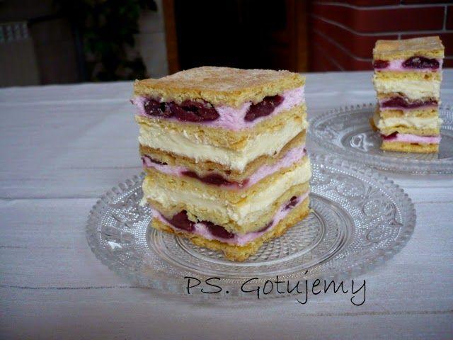 PS. Gotujemy: Ciasto francuskie z wiśniami (ciasto św. Jakuba)