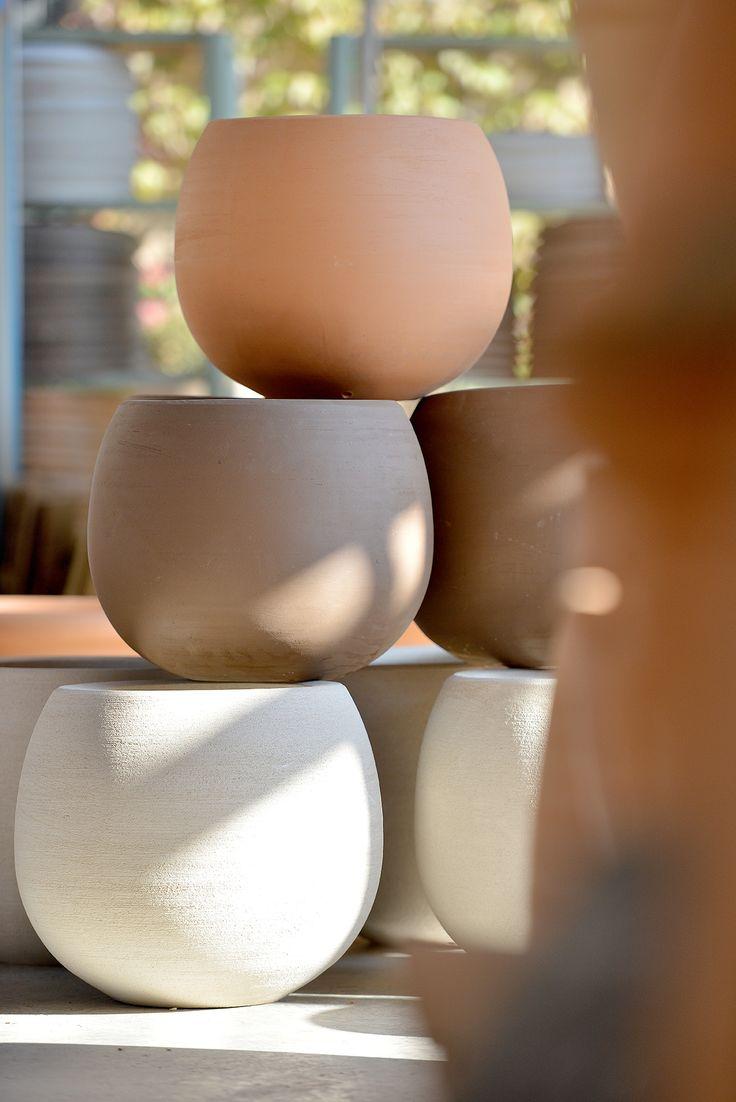 """Poterie Ravel"" (France). 2017 Argilla. Aubagne. France. International pottery fair. Earthenware. Jar"