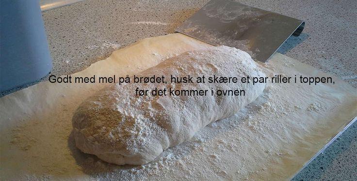 Verdens bedste brød - mel på!