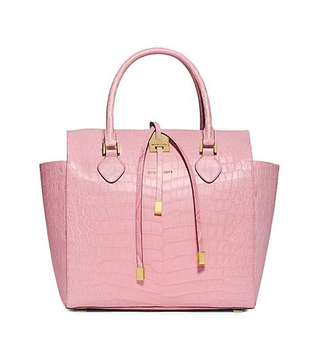 // Pinterest @esib123 //  #bags  pink crocodile michael kors bag | Borse Michael Kors: la collezione fall/winter 2014-2015 | UnaDonna