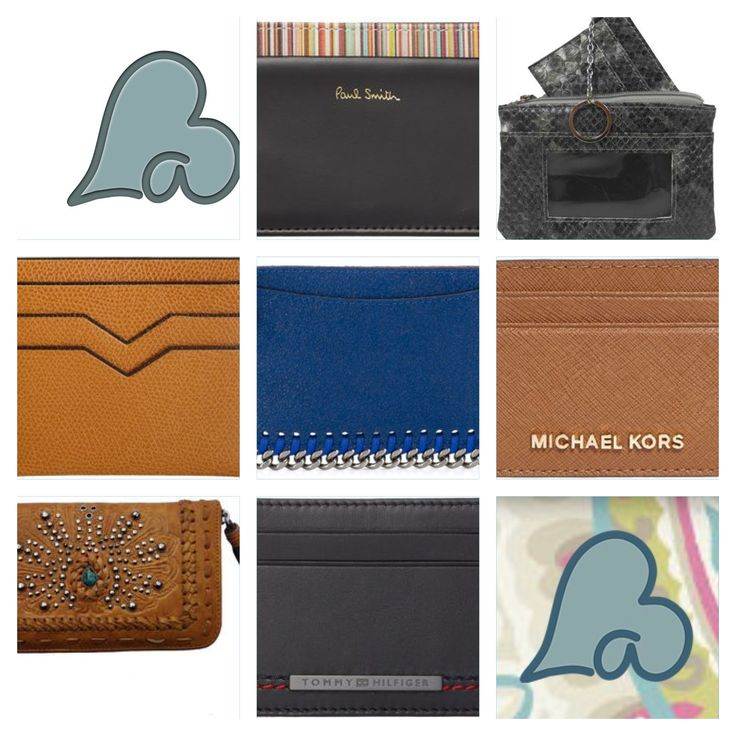 Accessorise your lifestyle with an extra stylish credit card holder.