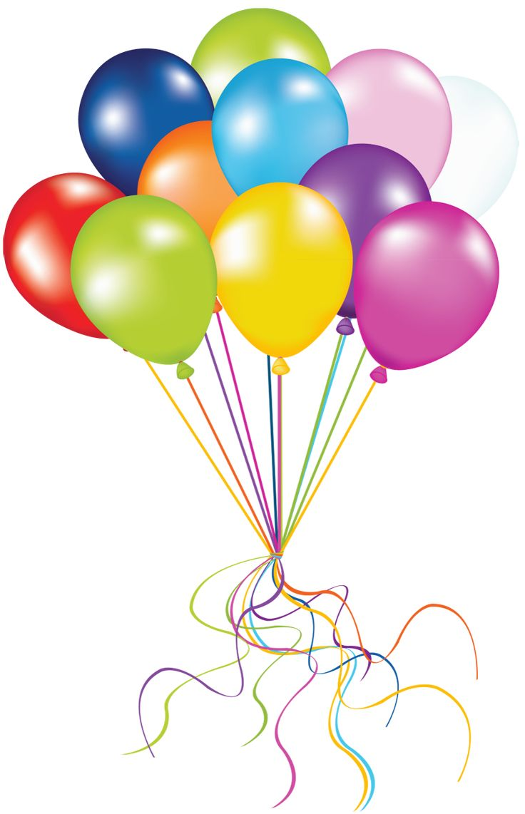 Transparent Balloons PNG Picture
