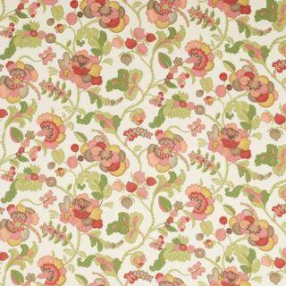 Empress Of India Coral | Warwick Fabrics Australia