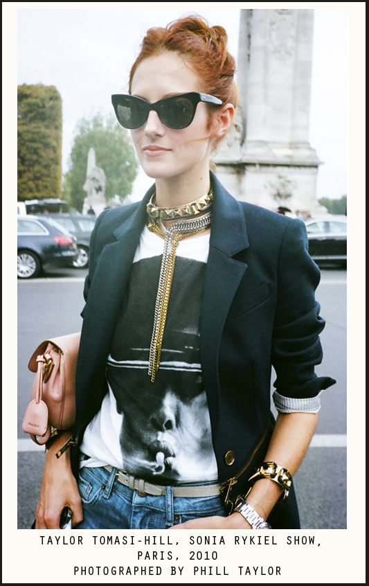 TTH: Taylor Tomasi, Fashion, Cat Eyes, Blazer, Tomasi Hill, Street Style, Cateye, Taylors, Graphic Tee