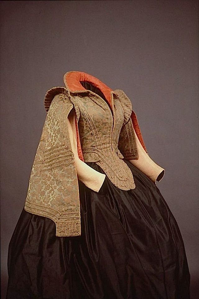 1575-1600 Bodice worn by Marie de Medici in Paris (Museum of Fine Arts - Boston, Massachusette USA)