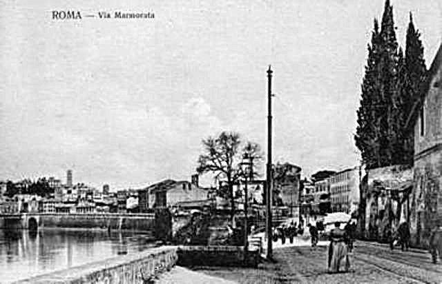 Via Marmorata Anno: 1900 ca.