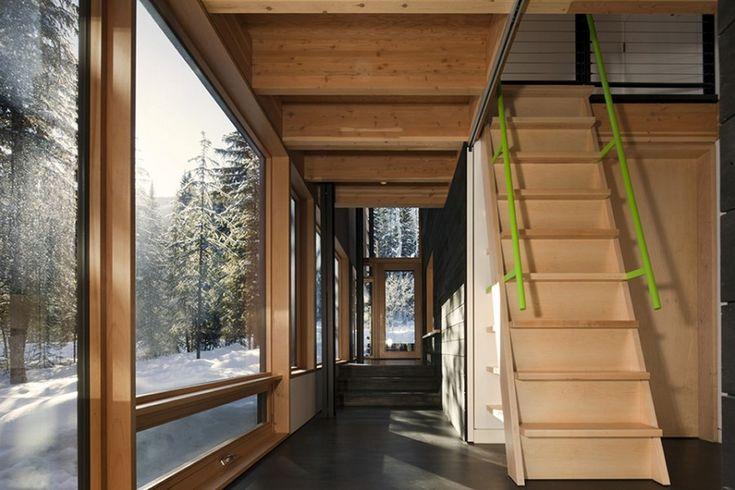 Architektonický skvost pod prašanem Skalistých hor - Mekka každého lyžaře