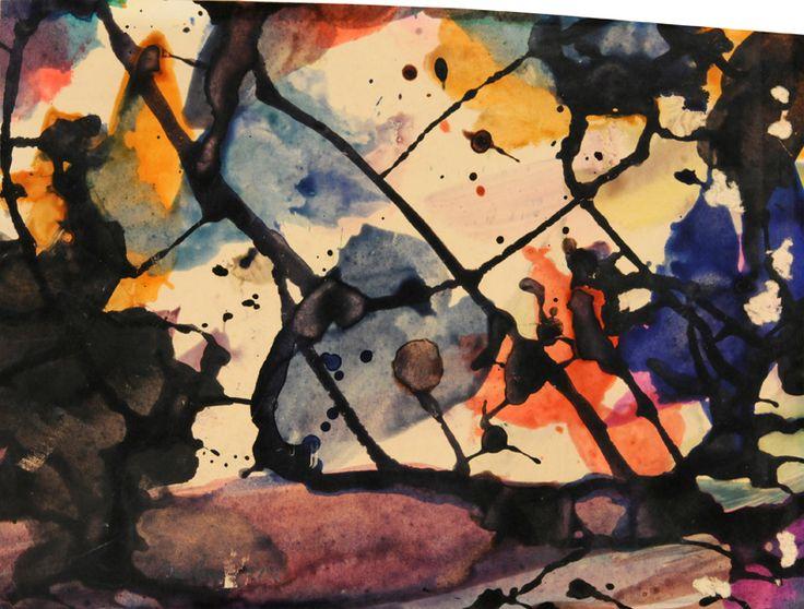 Combustion originalle - Marcel Barbeau - Galerie Simon Blais - 5420, boul. St-Laurent, Montréal