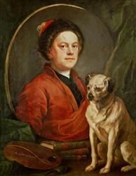 """WILLIAM HOGARTH 1697 - 1764 – A list of the great portrait painters of all time should never miss the name of William Hogarth, whose studies and sketches could even qualify as """"pre-impressionist""""."""