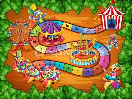 Gra planszowa — Ilustracja stockowa #59501973