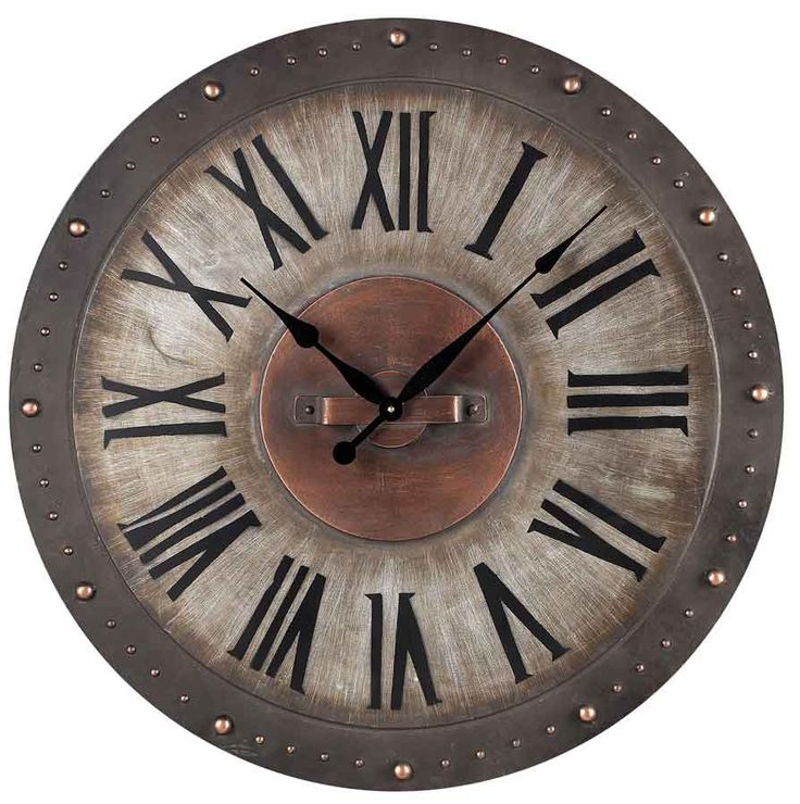 """Richardson Indoor Outdoor Wall Clock 31"""" by Sterling - Sterling Wall Clocks"""