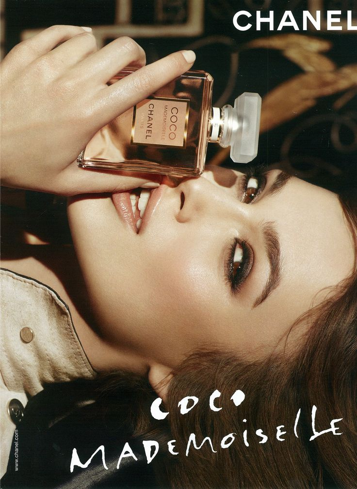 Keira Knightley for Chanel Coco Mademoiselle. (click the image for high-res photo.)