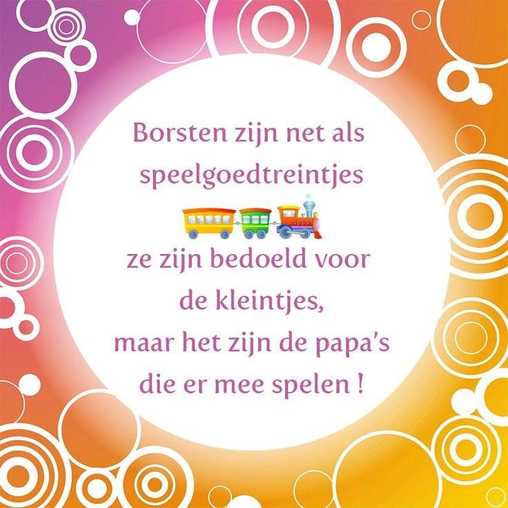 Tegeltjeswijsheid.nl - een uniek presentje - Borsten zijn net als…