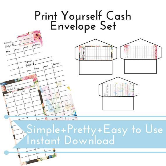 If there is ONE thing that has helped my family with our budget it is no question using a CASH BUDGET. I highly recommend #gamechanger This cash budget envelope set is available to instantly and can easily print and get started RIGHT NOW. You can print directly on your envelopes OR us the template and make your OWN using the template (included in this listing). Logging your cash expenses and spending tracker has never been easier. Download once and print as many as you need. Perfect…