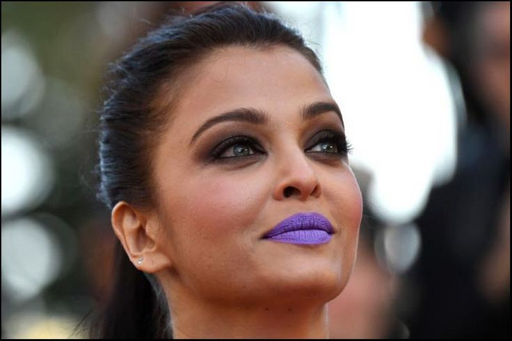 Aishwarya Rai Purple Lips Makeup At Cannes Film Festival 2016.. HIT or MISS?  #cannes2016 #cannesfilmfestival #fashion #hollywood #style #eyemakeup