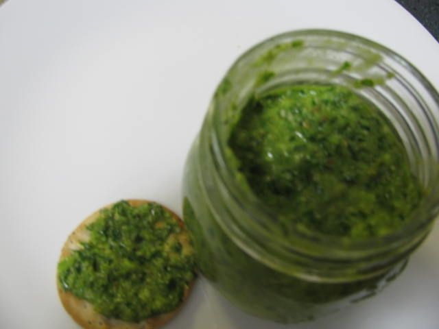 Recipe Basil Pesto by Thermimax - Recipe of category Sauces, dips & spreads