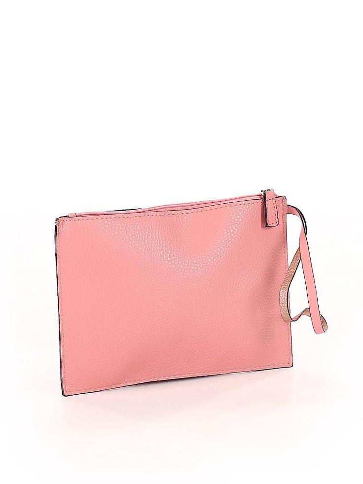 Wristlet Pink Solid Bags In 2020 Bags Pink Handbags