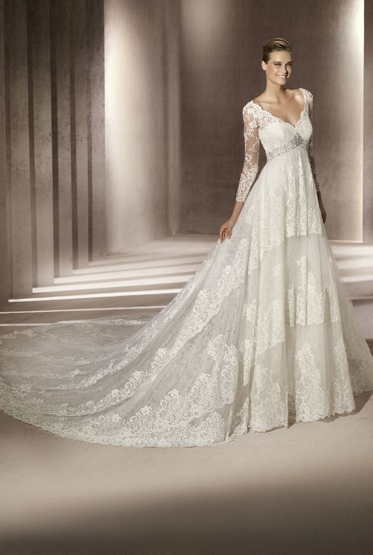 Small Crop Of Long Sleeved Wedding Dresses