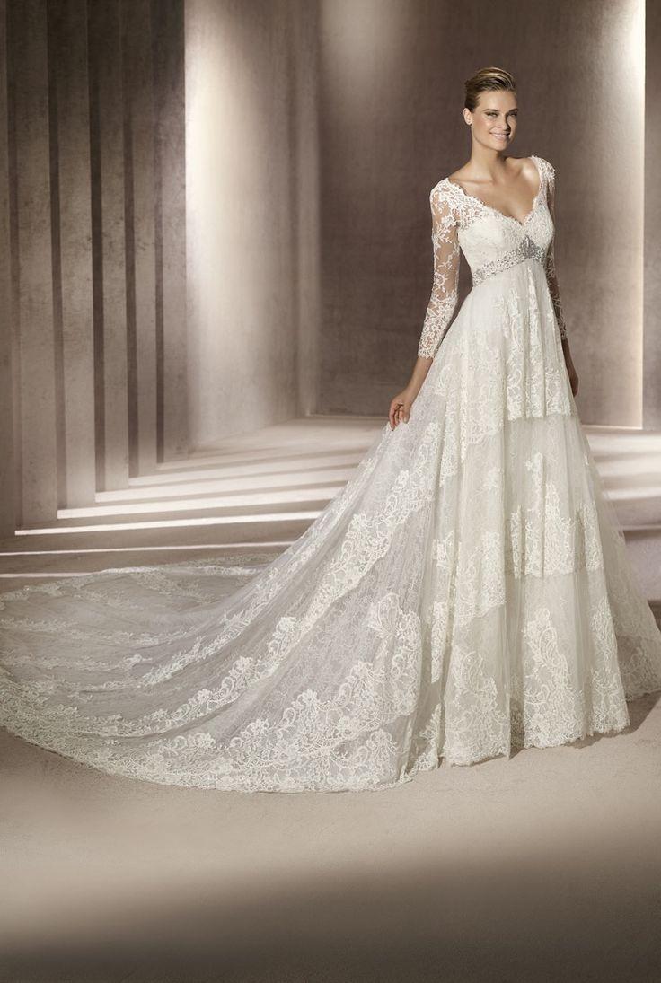 Medium Crop Of Long Sleeved Wedding Dresses