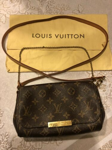 3fd886bd36e Favorite MM❤Monogram❤Louis Vuitton Crossbody Handbag Clutch W/Dust Bag