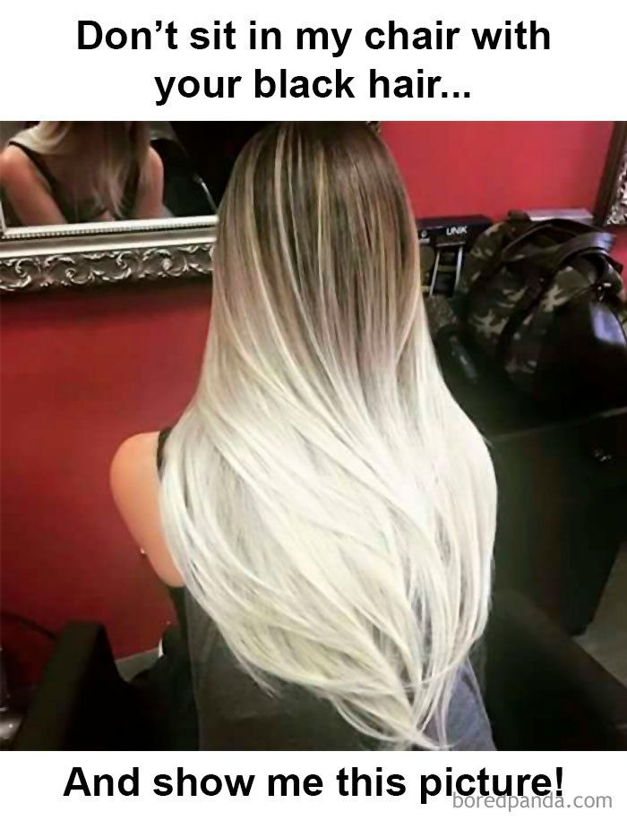 Funny Hairdresser Memes Balayage Hair Hair Styles Long Hair Styles