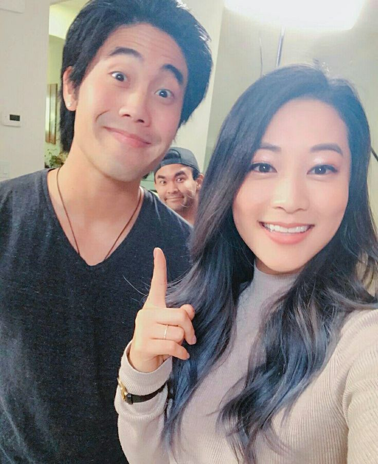 Arden cho and Ryan Higa with Sean at the back....