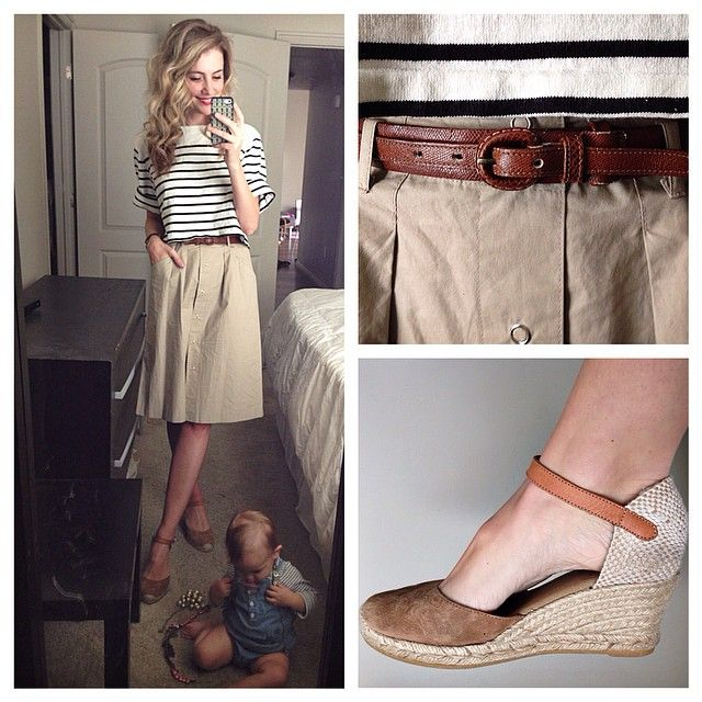 """""""She tries on all my necklaces while I'm getting ready 