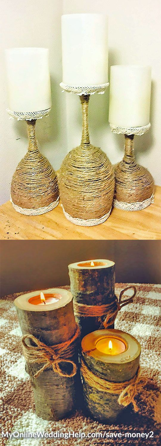 Best rustic candles ideas on pinterest wood candle