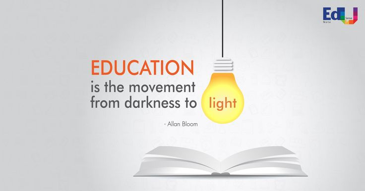 Education is the movement from  darkness to Light. #Edusense Note