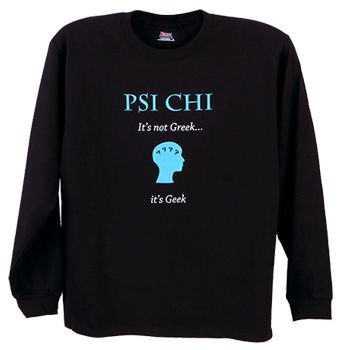 White Seal Short Sleeve T-Shirt - Small - Psi Chi, The International Honor Society in Psychology