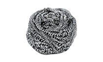 Strong Scourer Pads Stainless Steel Sponges Scrubbers, Multi Purpose Scrubbing Pads, Scourer Pads (Value Pack), 12 Pack
