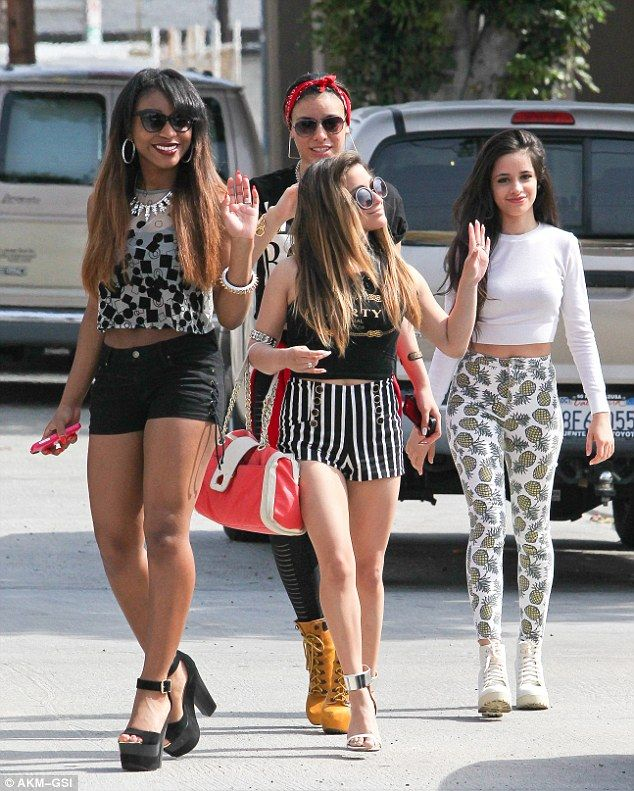Fifth Harmony: Camila Cabello, Lauren Jauregui, Ally Brooke, Normani Hamilton and Dinah-Ja...
