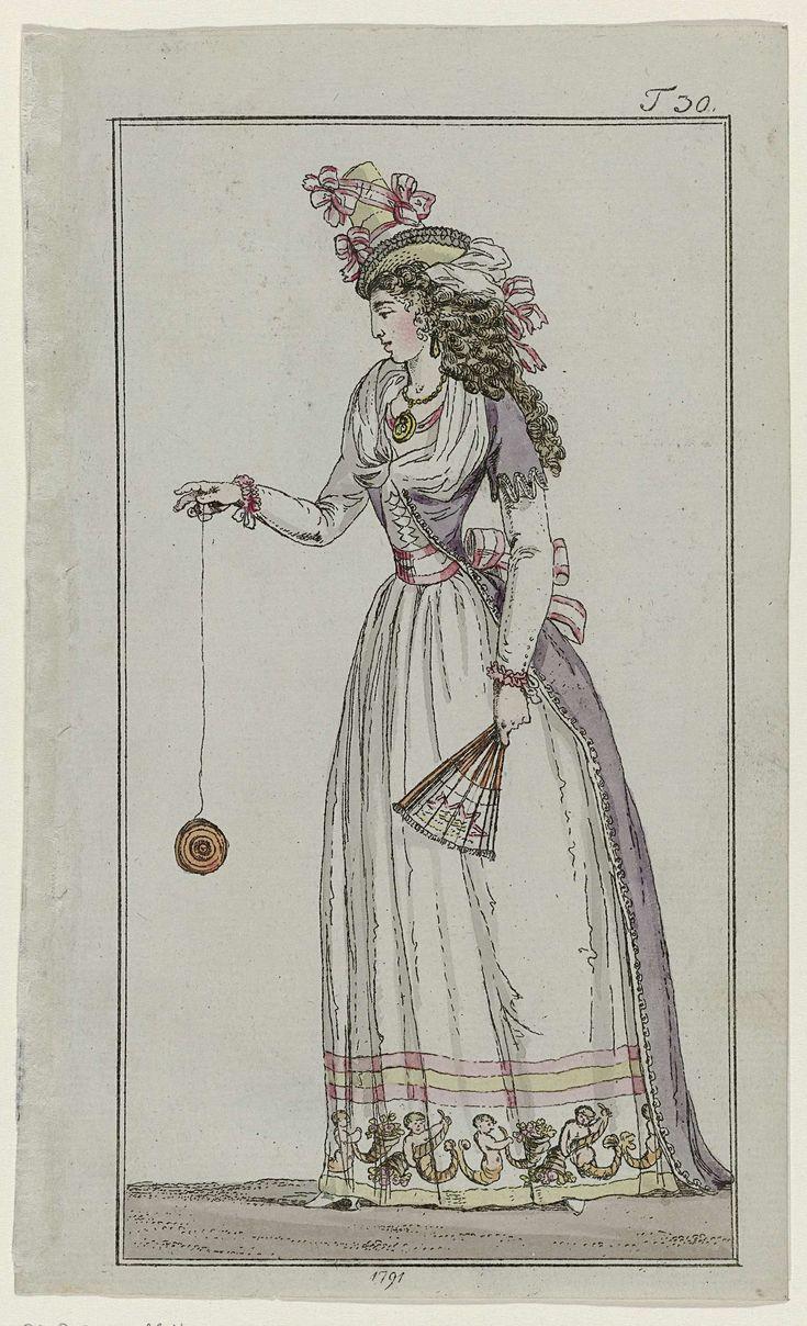 Journal des Luxus und der Moden, 1791, T 30, Georg Melchior Kraus, 1791