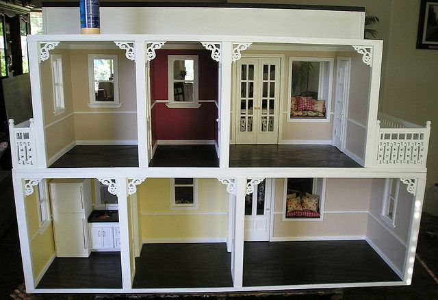 interior view of the barbie doll house by agardenofroses, via Flickr