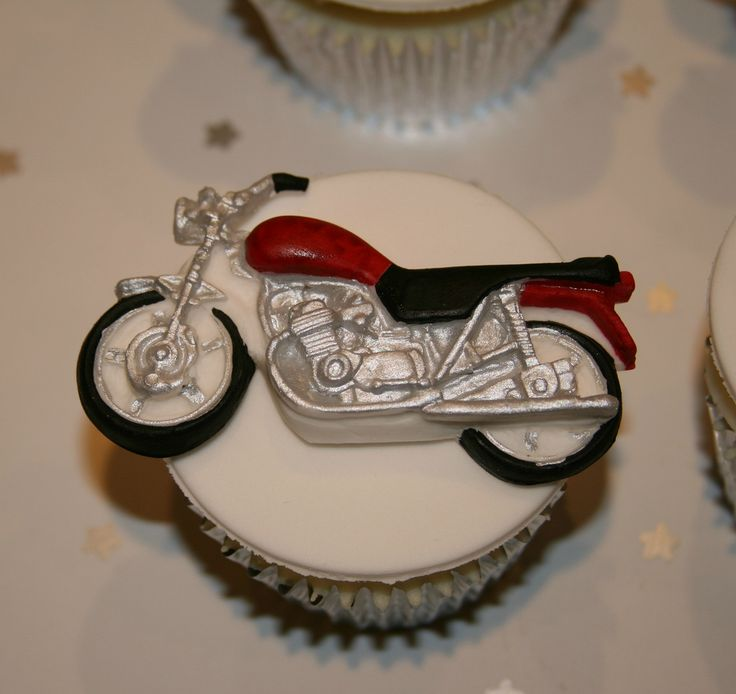 Motorbike Cupcake