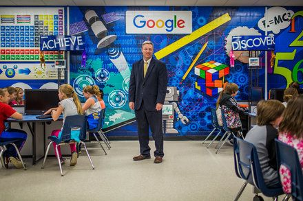 Google Effect Rubs Off on Schools in One Rural Oklahoma Town A $2.5 billion data center transforms the learning experiences of a rural communitys students in a state where schools are struggling. Technology Computers and the Internet E-Learning Education (K-12) Budgets and Budgeting