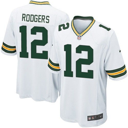 a4c06f0b67c ... Youth Nike Limited Green Bay Packers Aaron Rodgers 12 White NFL Jersey  for Sale Sale ...
