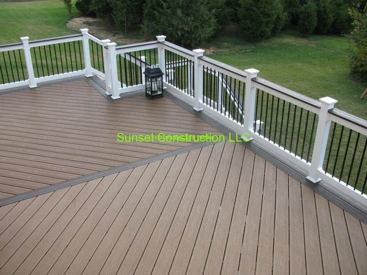 Trex deck in virgina by for Composite decking sale