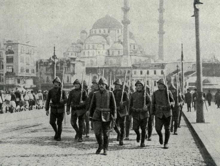 OTTOMAN SOLDIERS, ISTANBUL Osmanlı Askerleri, İstanbul