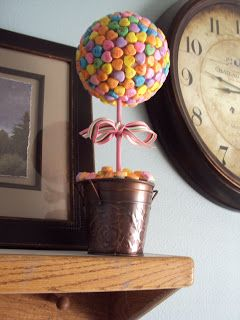 Glue guns and spatulas: Sweetheart Candy Valentine Topiary