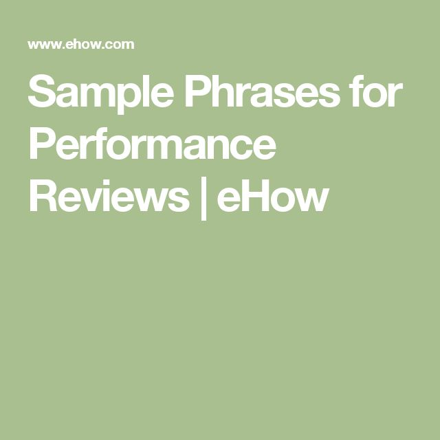 Best 25+ Employee performance review ideas on Pinterest - self performance review example